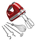 KitchenAid KHM926ER Empire Red 9-Speed Hand Mixer