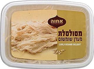 Achva Curly Sesame Delight Kosher For Passover 8.8 Oz. Pack Of 3.
