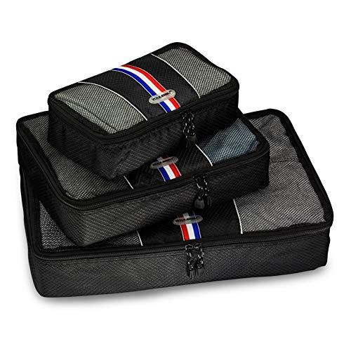 トラベルポーチ アレンジケース スーツケース整理 軽量 大容量 旅行 出張 便利グッズ 衣類収納 靴入れ セット 3点 ブラック