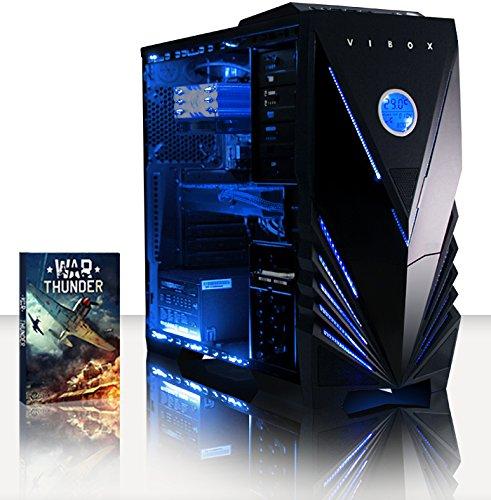 VIBOX Sniper PC Gaming Computer con Voucher di Gioco (4,2GHz Intel i5 Quad-Core Processore, Nvidia GeForce GTX 1060 Scheda Grafica, 8GB DDR4 RAM, 120G