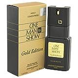 Jacques Bogart One Man Show Agua de Toilette Vaporizador Para Hombres, Gold Edición 100 ml, Multicolor (224513)