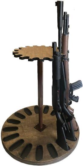 17 gun rotary gun storage rack