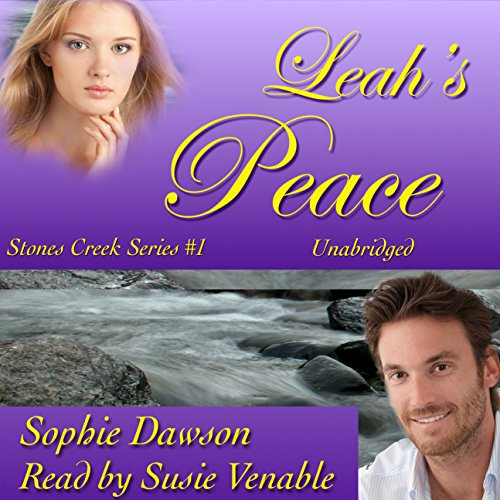 Leah's Peace     Stones Creek, Book 1              By:                                                                                                                                 Sophie Dawson                               Narrated by:                                                                                                                                 Suzie Venable                      Length: 9 hrs and 7 mins     10 ratings     Overall 4.2