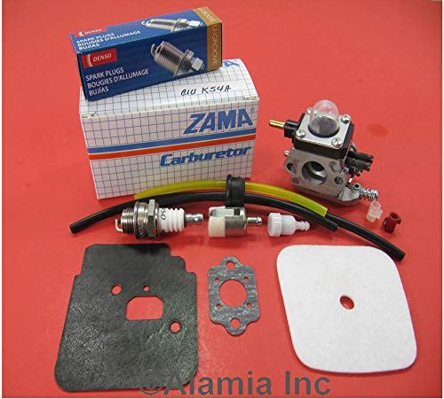Check Out This Mantis Tiller Parts Tune Up kit with Mantis Carburetor C1U-K54A, and Gasket, Fits All...