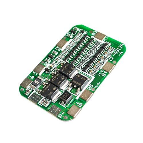 ZRYYD Für 6 Pack 18650 Li-Ion Lithium-Batteri-Zellen-Modul 10pcs / Lot 6S 15A 24V PCB BMS-Schutzpension