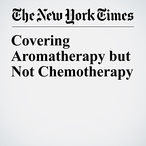 Covering Aromatherapy but Not Chemotherapy copertina