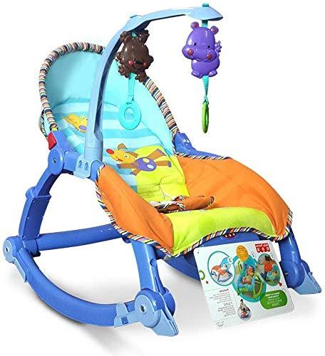 Oscilación del bebé silla de bebé gorila sillas y mecedoras sillón, sillón, cama de niño, cuna del bebé Elise (Color : B)