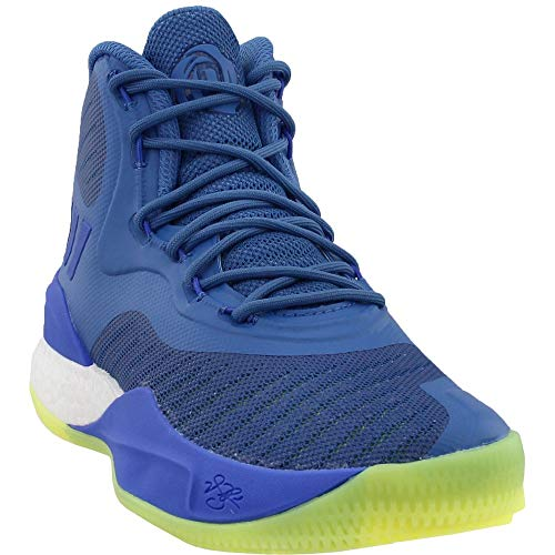 adidas Mens D Rose 8 Basketball Casual Shoes, Blue, 7.5
