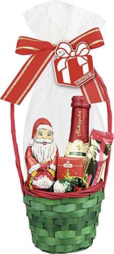 Windel - Weihnachts-Geschenkkörbchen 100g mit Sekt 11,5% Vol. - 1St