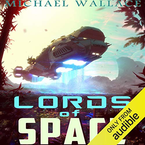 Lords of Space audiobook cover art