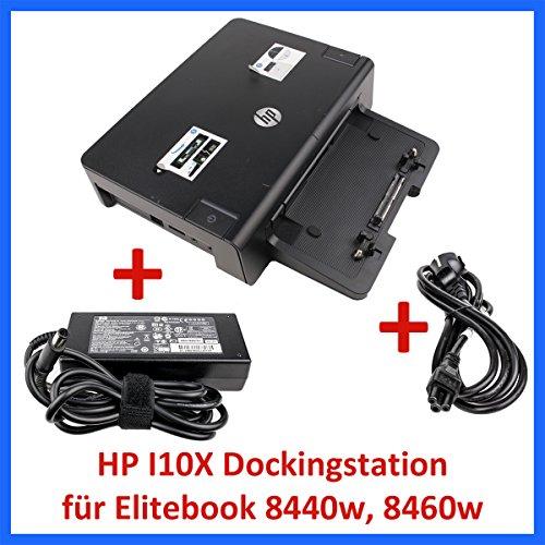 HP Dockingstation HSTNN-I10X + HP Netzteil 120W für Elitebook 8440w 8460w