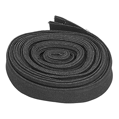 Longzhuo Hose Protector Sleeve, 7.5m Nylon Abrasion Resistant Flame Retardant Cable Cover Can Be Arbitrarily Cut for Wiring Harn Rod Welding Cable