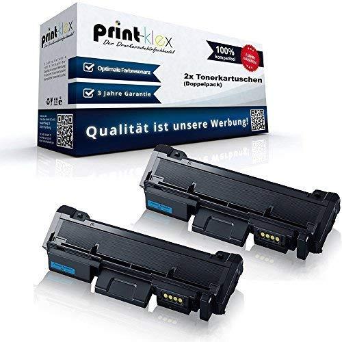 2x Kompatible Tonerkartuschen für Samsung Xpress M2825ND Xpress M2825ND Premium Line Xpress M2826 Xpress M2835DW Doppelpack MLT-D116S/ELS 116S MLTD116LELS MLT D116 MLT-D116LELS MLT 116 ELS