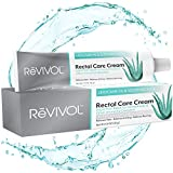 ReVIVOL-XR | 5% Lidocaine + Soothing Aloe + Vitamin E, Fast-Acting Numbing Cream Ointment Topical | Skin Pain Relief | Non-Greasy | Hemorrhoid Treatment | Made in USA | (with Finger COTS)