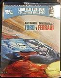FORD Vs FERRARI Steelbook 4K UHD Blu-ray (Steelbook)