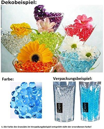 HRB Deko, Dekoperlen,Aqualinos+Giant Pearls Wasserperlen Farbe Indigo 15-18mm