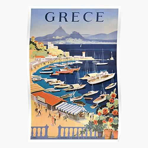 Generic Parthenon Greece Affiche Athens Art Vintage Greek Travel Home Decor Wandkunst drucken Poster !