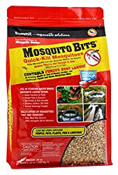 Moquito bits kill fungus gnat larvae