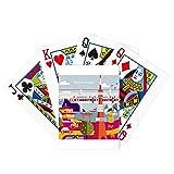 Juego de mesa de diversión de la tarjeta mágica japonesa famosa visita turística local