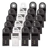 An liang qu you xian mei Lame Accessoires 20pcs Outils oscillants à Outils Multiples 32mm Lames de scie for Fein Multimaster Bosch Makita