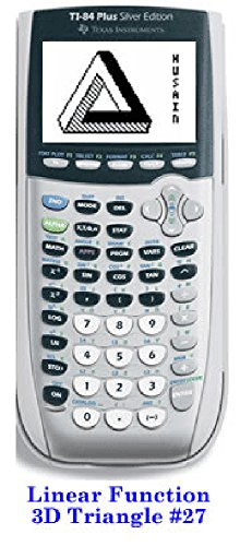 3D Triangle on TI - 8X graphing Calculator (English Edition)