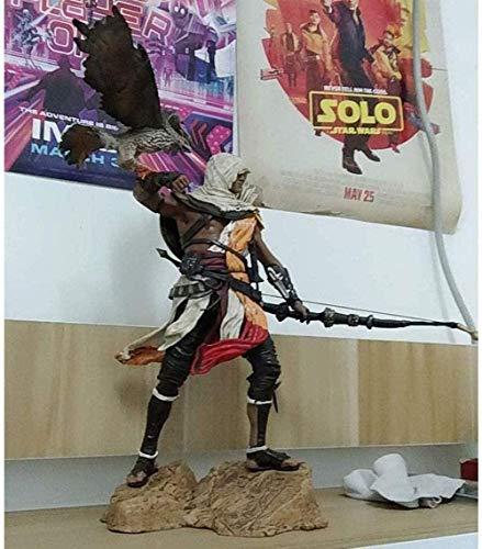 cheaaff LULUDP Anime Modell Anime Skulptur Assassins Creed - Origin Bayek PVC Figur - Hochdetaillierte Skulptur 9.84 Inchese