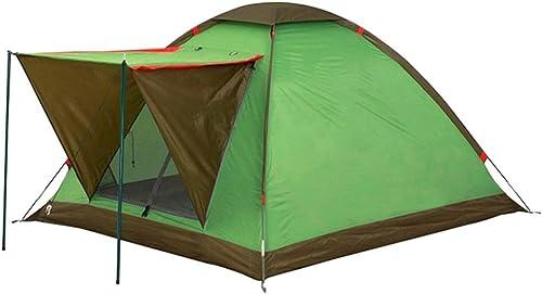 ABB Tente, Tente Ultra-légère, Tente de Trekking pour 2 3 4 Personnes, Tente de Camping, Absolument imperméable