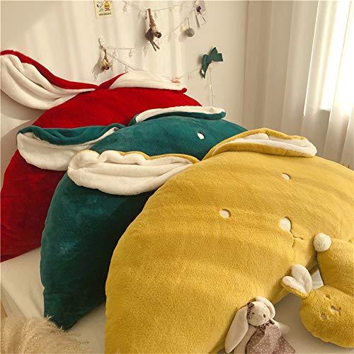 WRHH - Almohada de espuma de alta calidad para leer y TV relax, ideal para adultos, niños para descansar en la cama, embarazo lumbar y cabeza (estilo de dibujos animados)