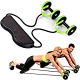 ZGQ Ab <span class='highlight'>Carver</span> Pro Roller for Core Workouts,Ab Abdominal Exercise Roller,Ab Wheel Roller with Form Fit, Simple, <span class='highlight'>Life</span> Steel, Alloy for Exercise & Fitness, Home Fitness Equipment