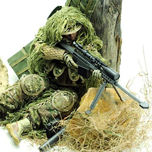 HYZH Figura de acción de soldado 1/6, 30 cm, modelo SWAT, especial policía de soldado, modelo de acción de soldado, regalo creativo para fans militares, protección contra todo terreno