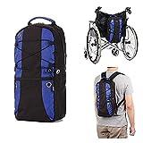 Oxygen Bolsa transporte mochila de oxígeno portátil para M6/M9 cilíndricos con correas ajustables para silla de ruedas, Caminante de rodilla - uso médico, doméstico, viajes