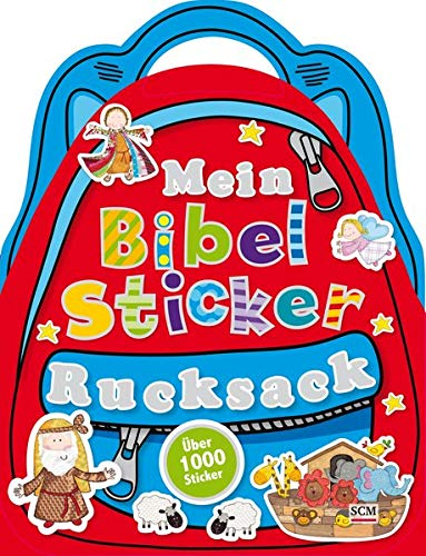 Mein Bibel-Sticker-Rucksack: über 1000 Sticker