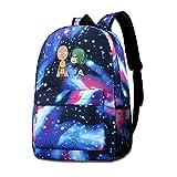 XCNGG Mochila para niños Mochila para niños Bolsos para niños The Strongest Hero Starry Sky School Bags For Teen Boys Girls University Student Daypack