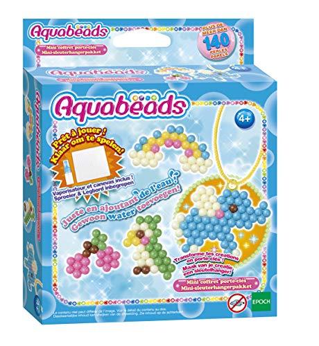 Aquabeads Mini-Koffer, kreativ, 31342, Mehrfarbig, One Size
