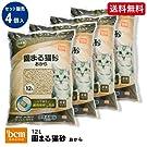 【ケース販売】固まる猫砂 おから 12L×4 4個入り