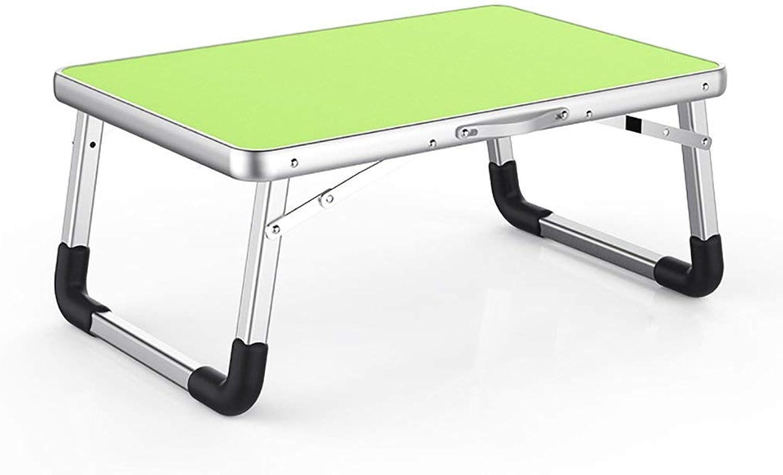 punto de venta Wghz Mesa Plegable de Aluminio, Mesa de de de computadora Simple, fácil de Transportar (Color  verde, Tamaño  70  50  32 cm)  sin mínimo