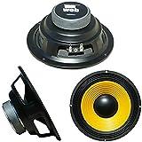 WEB W-064 altoparlante diffusore medio basso woofer 16,50 cm 165 mm 6,5' 50 watt rms 100 watt max impedenza 4 ohm auto sensibilità 92 db, 1 pezzo