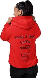 INDIRAGE First I Need Coffee Long Sleeve