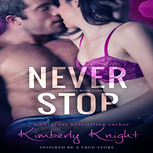 Never Stop audiobook cover art