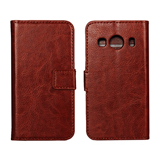 Samsung Galaxy Ace Style LTE G357 Comfortable Shell CaseforYou Protective Skin Double Layer Bumper Shell Shockproof Impact Defender Protective Case Comfortable for Samsung Galaxy Ace Style LTE G357 , Brown