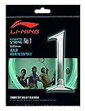 Li Ning axj j018-A No. 1Set badmintonstring/vert menthe