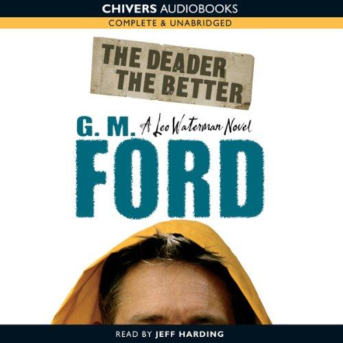 The Deader the Better audiobook cover art