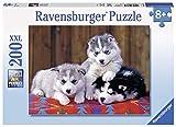 Ravensburger - 12823 - Puzzle - Mignons Huskies - 200 pièces