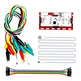 Sraeriot Clips De Cocodrilo Con Cable Usb Mk Deluxe Kit De Doble Extremo, Cables De Prueba De Cable, Compatible Con Instrumentos De Medición Electrónicos Arduino, Accesorios De Prueba