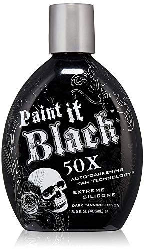 Millennium Paint it Black 50x Tanning Lotion with Bronzer