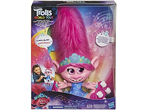 TROLLS- Poppy Melena Bailarina (Hasbro E94595N0)