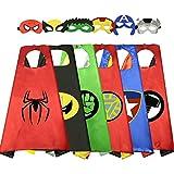 DEDY Spielzeug 6 Jahre Jungen, Kinder Spielzeug Jungen Cosplay Kostüm Maske Superhelden Kinder...