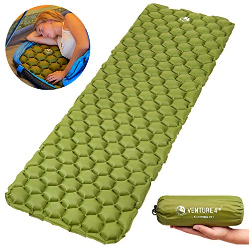 VENTURE 4TH Ultralight Air Sleeping Pad - Lightweight, Compact, Durable – Air...
