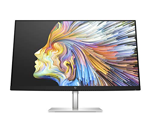 HP U28 4K HDR Monitor - Computer Monitor for Content Creators with IPS Panel, HDR, and USB-C Port - Wide Screen 28-inch 4k Monitor with Factory Color Calibration and 65w Laptop Docking - (1Z978AA)