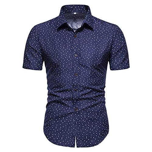 SSBZYES Camisas De Hombre Camisas De Verano De Manga Corta Tops De Hombre Camisetas Camisas De Hombre Marca De...